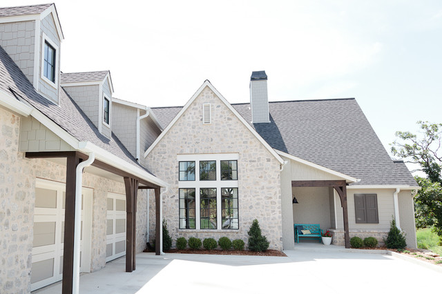 Cape cod chic beach style exterior other by the for Cape cod exterior design