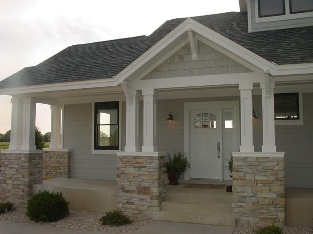 cape cod craftsman home craftsman exterior - Cape Cod Craftsman