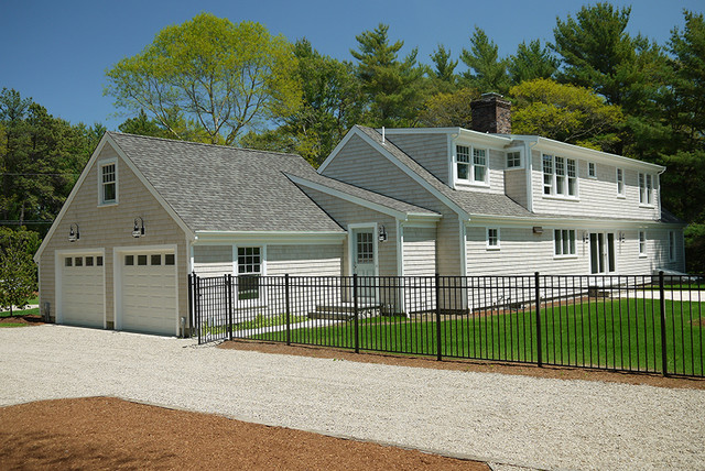 Cape Cod Renovation Transitional Exterior Boston