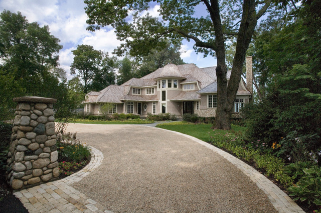 Cape Cod Stone And Shingle Style House In Winnetka On Lake