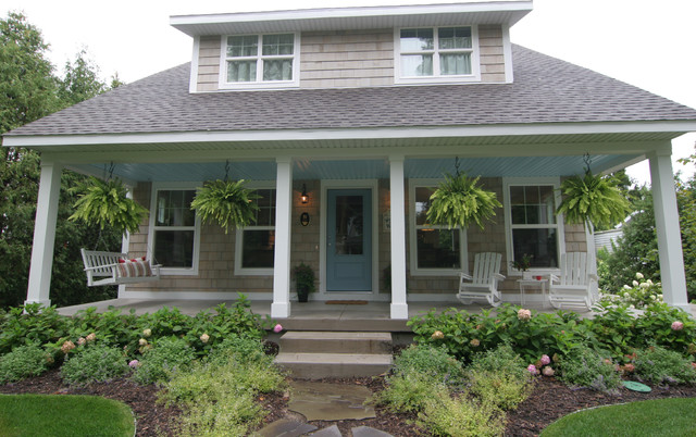 Cape Cod Style Home Traditional Exterior Grand Rapids By Koetje Builders Inc
