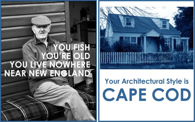 Cape Cod Style exterior