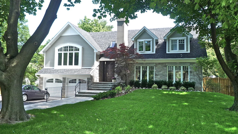 Cape Cod Style Traditional Exterior Toronto By Wingelaar