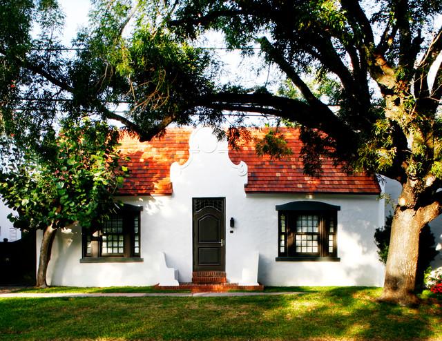 Cape Dutch House Mediterranean Exterior Miami By