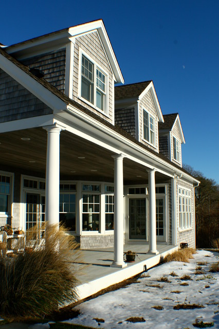 Cape House - Buzzards Bay traditional exterior