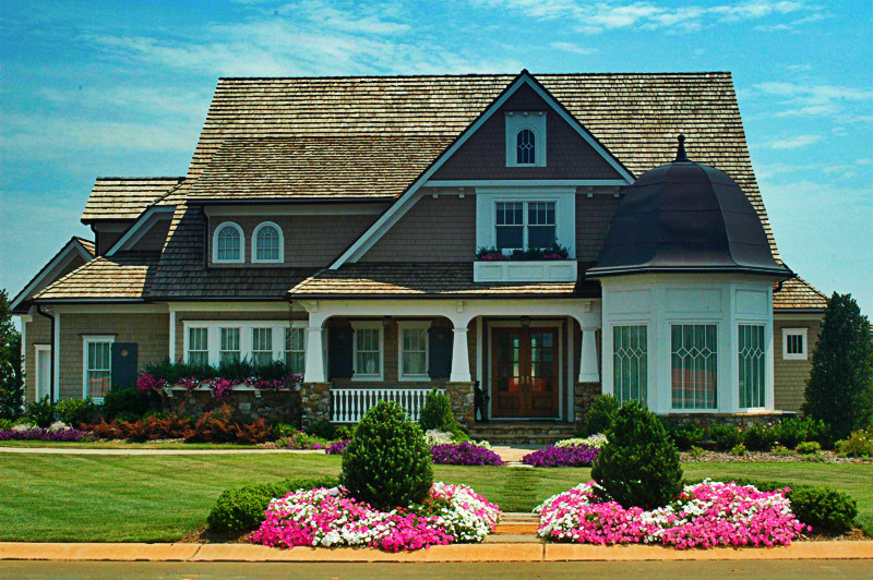 Cape - Plan 4583 - Beach Style - Exterior - Charlotte - by ... Nantucket Cottage Style Home Plans on nantucket floor plans, nantucket hamptons style in, nantucket shingle style beach house,