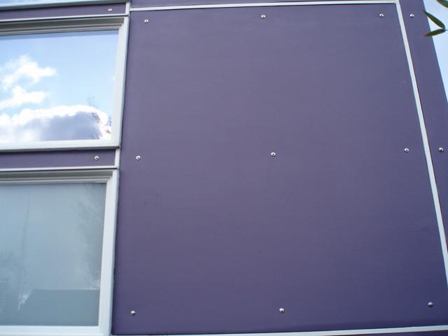 Medium Density Overlay Panel ~ Capitol hill facade exterior seattle by eleisondesign