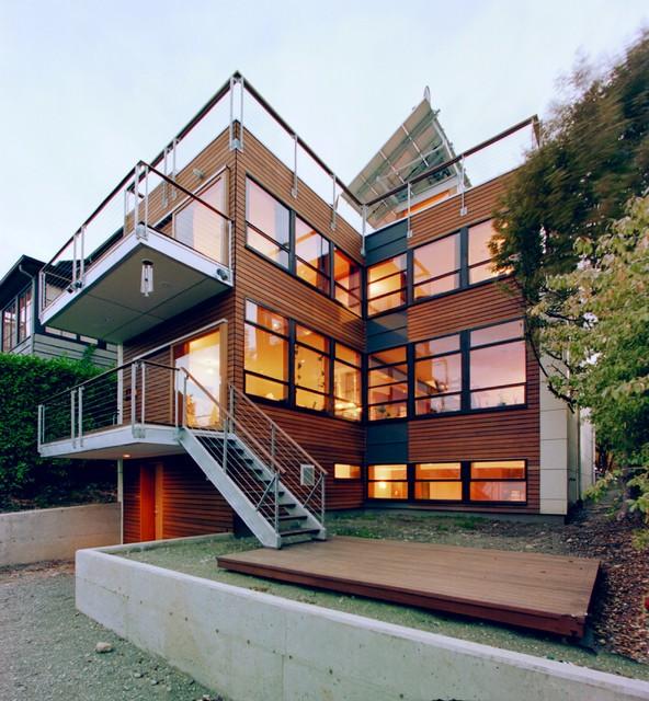 Capitol Hill Rear modern-exterior