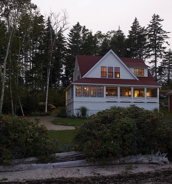 Capitol Island Beach Style Exterior Portland Maine