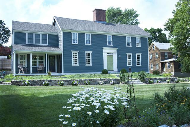 Captain Sutton House Colonial traditional-exterior