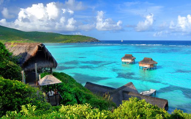Caribbean Island tropical-exterior