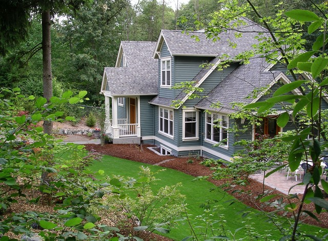 Carl Colson Architect traditional-exterior