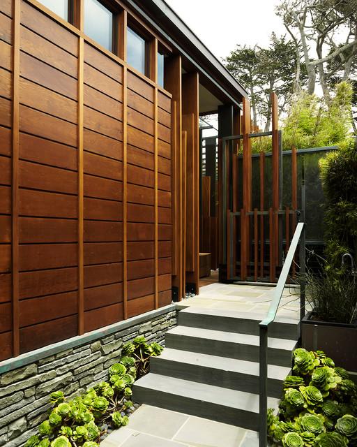 Carmel Residence modern-exterior