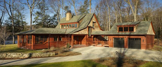 Carmel Residence: Exterior 2 traditional-exterior