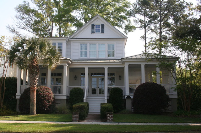 Carolina island house traditional exterior by our for Our town house plans