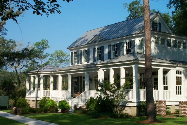 carolina island house traditional exterior atlanta