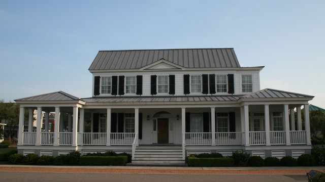 Carolina island house traditional exterior atlanta for Carolina home designs