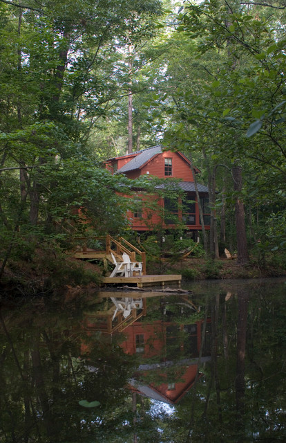 Carolina jessamine cottage rustic exterior by our for Carolina cottage house plans