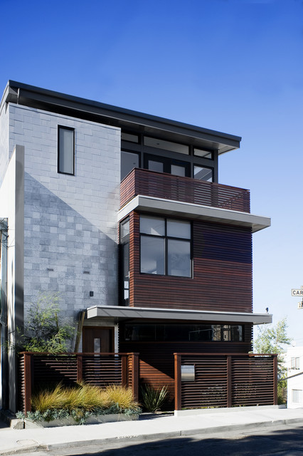 Carolina St contemporary-exterior