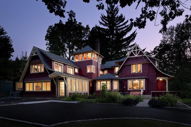 Carpenter Gothic Exterior at Duck traditional-exterior