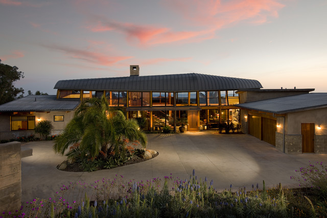 Carpinteria Foothills contemporary-exterior
