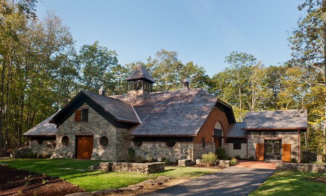 Carriage House/Barn - Traditional - Garage And Shed - new york - by ...