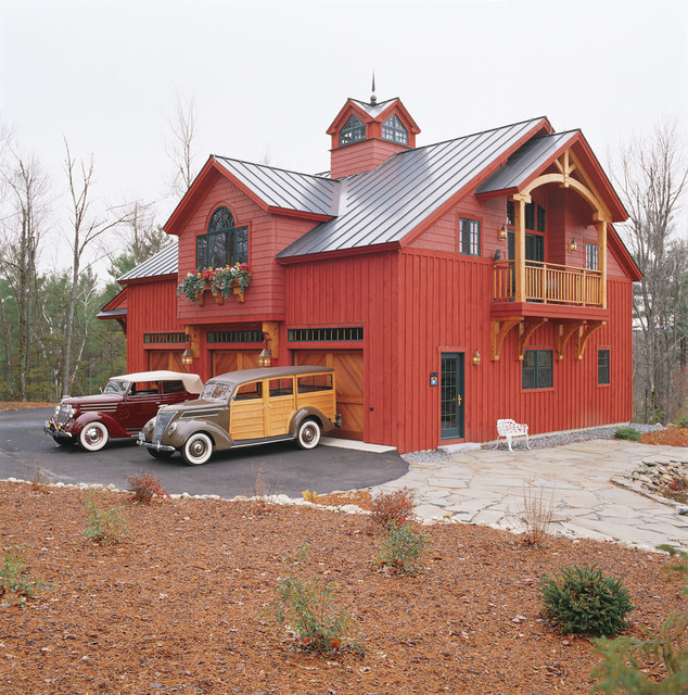 Carriage house traditional exterior boston by for Carriage house plans cost to build
