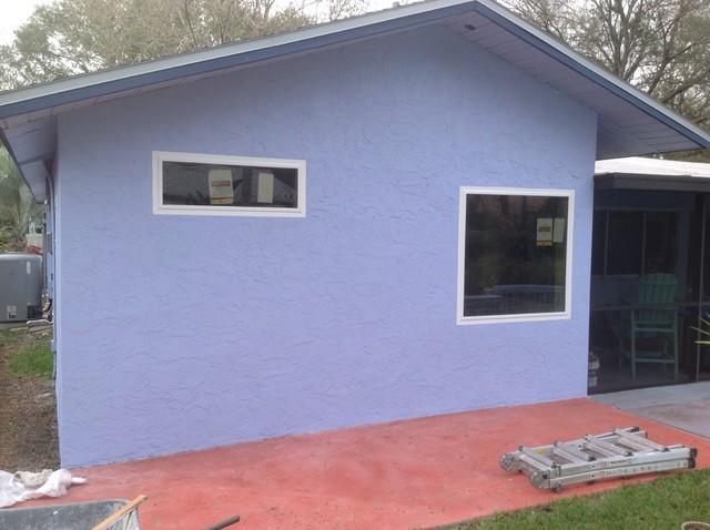 Carrollwood bathroom renovation eclectic-exterior