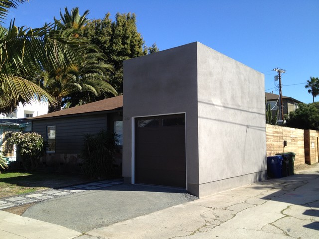 carstack modern garage and shed los angeles by studioslab