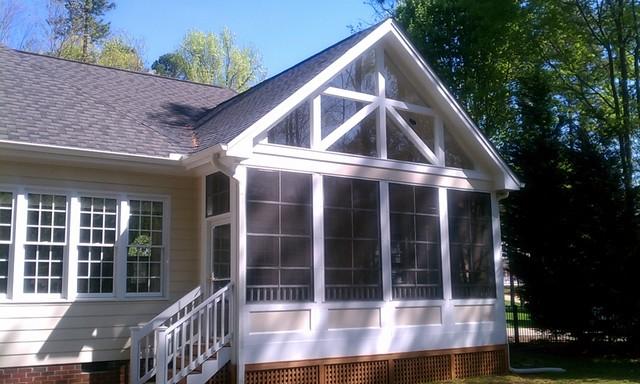 Cary 3 Season Room traditional-exterior