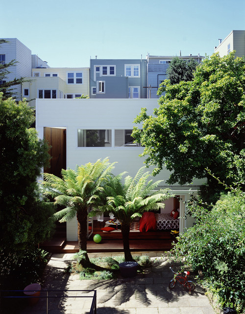 Cary Bernstein Architect Eureka Valley Residence eclectic-exterior