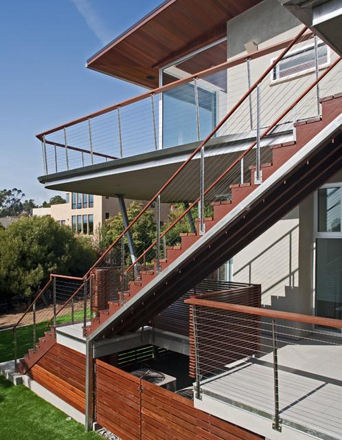 Casa 8 contemporary-exterior