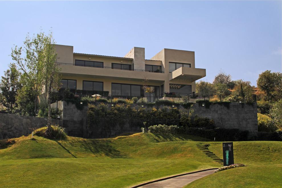 Casa Bosque Real Terrazas Modern Exterior Mexico City