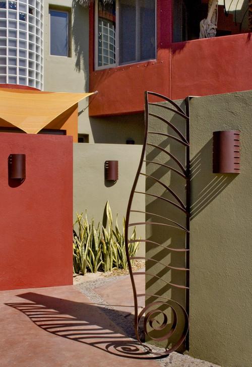 Casa Cabo Pulmo tropical exterior