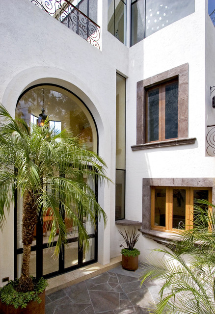 Casa Lluvia Blanca mediterranean-exterior