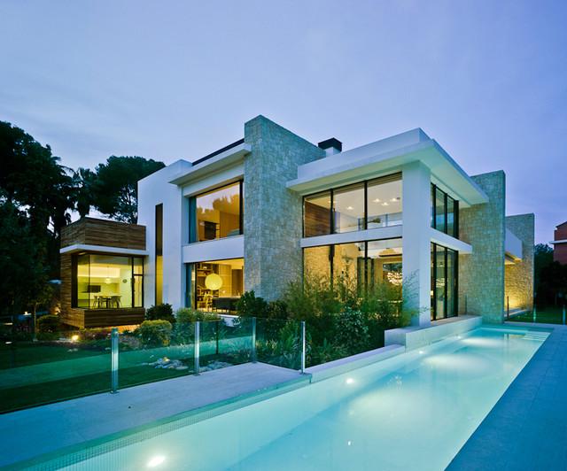 Casa mediterr nea for Casa moderna mediterranea
