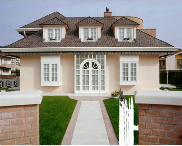Casa stile inglese for Disegni portico anteriore per case in stile ranch