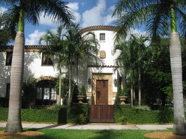 Casas Andaluzas Mediterrneo Fachada Miami de Nelson de Leon