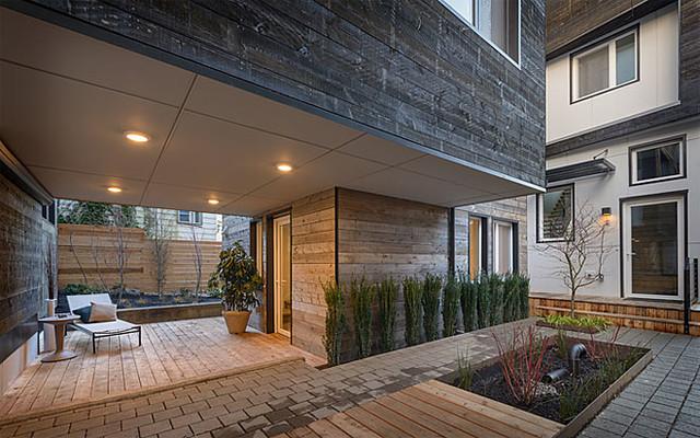 Cascade Built View Haus 5 Contemporary Exterior