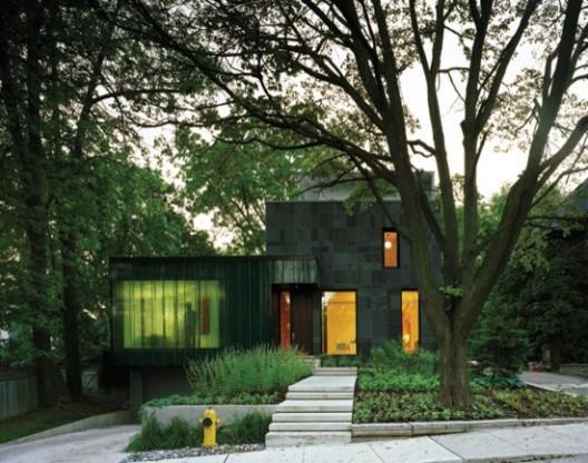 Cascade House modern-exterior
