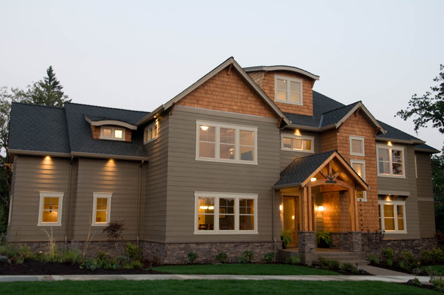 Cascadia, Front Exterior - Traditional - Exterior ... on Cascadia Outdoor Living Spaces id=58762