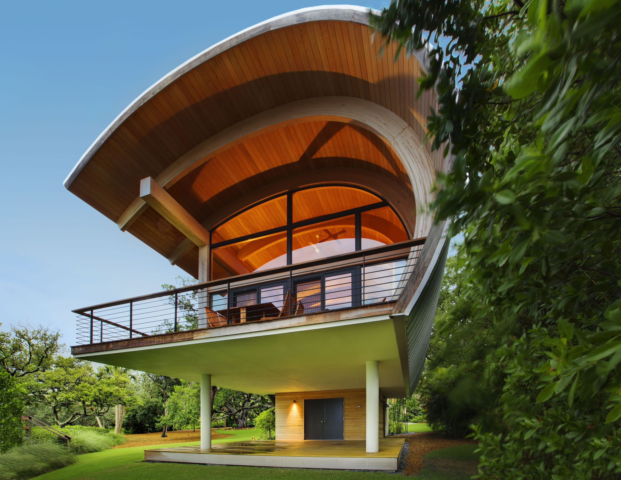 Curved Roof Houzz