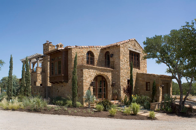 Casita for Tuscan home plans with casitas