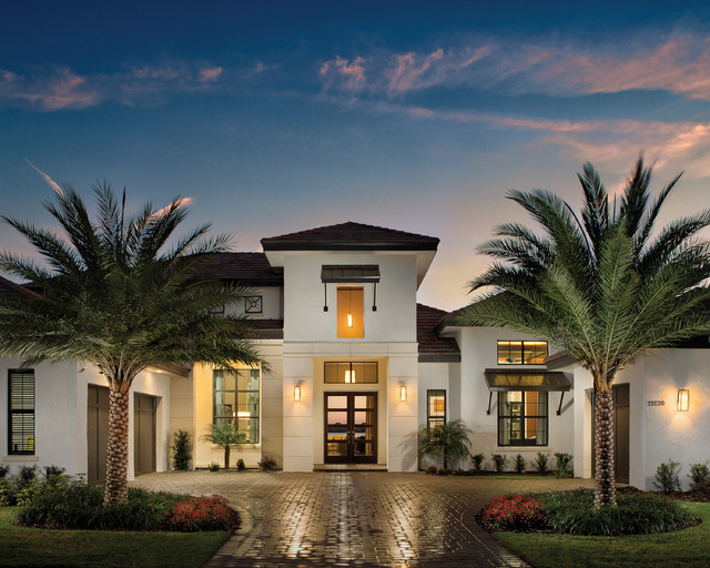 Castellina 1272 Model Home Tropical Exterior Tampa