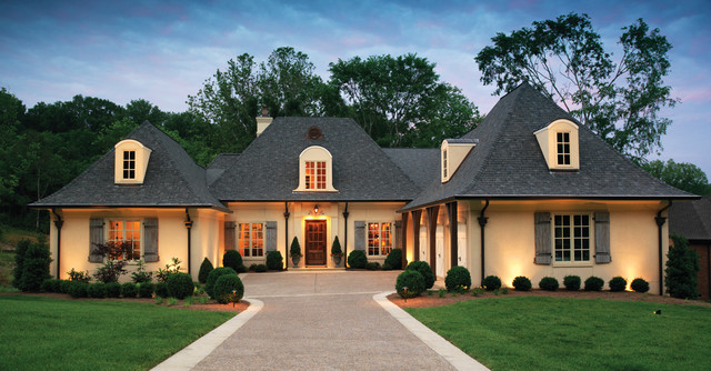 Castle Homes Exteriors traditional-exterior