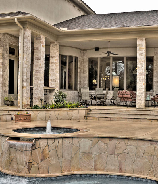 Castleridge Estates mediterranean-exterior