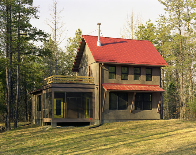Caswell County Retreat Rustic Exterior Raleigh By