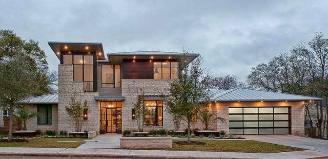 Cat Mountain | Exterior | New Construction | Greenbelt Homes contemporary-exterior