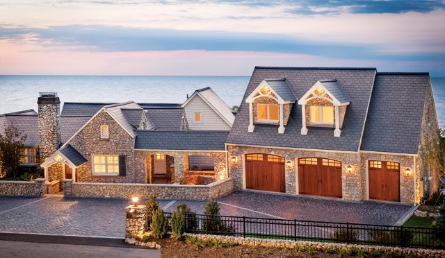 Catawba Lake - Canyon Ridge Collection traditional-garage-doors-and-openers