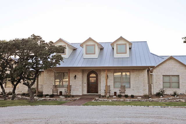 Cater Hill Country Ranch Traditional Exterior Austin